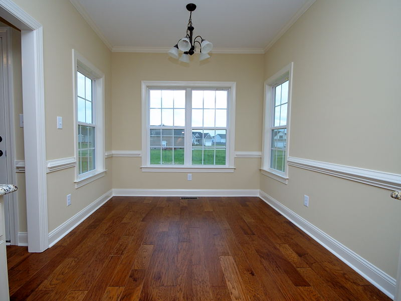 New Construction for Sale - 314 Stillwater Creek Drive Goldsboro NC 27534 - Breakfast Room Dining Area