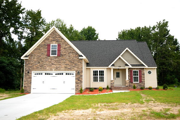 New Construction - Homes for Sale - Braswell Rd. - Rosewood - Goldsboro NC - Main View