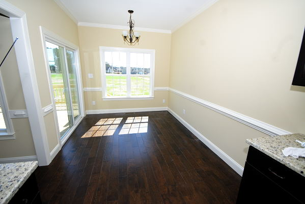 New Construction for Sale - 901 Braswell Rd. - Goldsboro NC - Breakfast Room