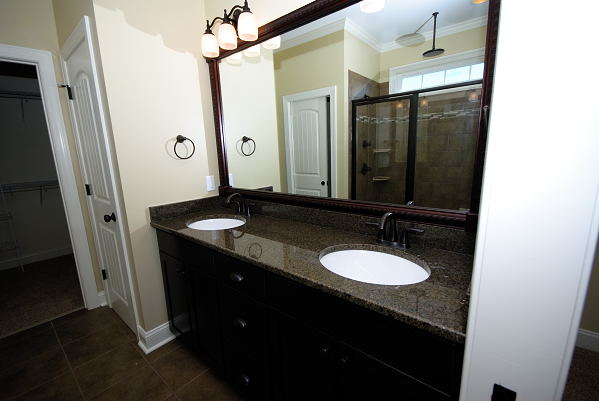 New Construction for Sale - 901 Braswell Rd. - Goldsboro NC - Master Bath