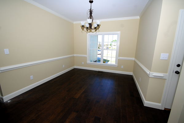 New Construction for Sale - 901 Braswell Rd. - Goldsboro NC - Dining Room