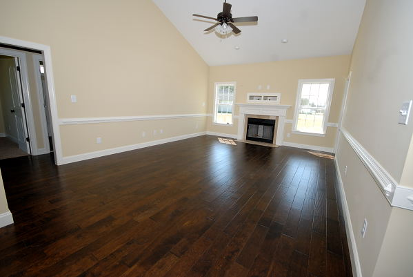 New Construction for Sale - 901 Braswell Rd. - Goldsboro NC - Family Room