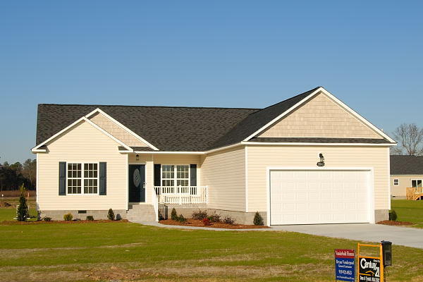New Home for Sale - 100 Teresa's Way Goldsboro NC - Front View