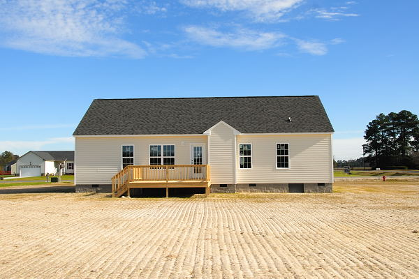 New Construction for Sale - 100 Teresa's Way - Goldsboro NC - Back View