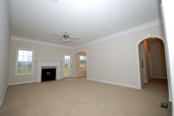 New Construction for Sale - 100 Teresa's Way - Goldsboro NC - Family Room
