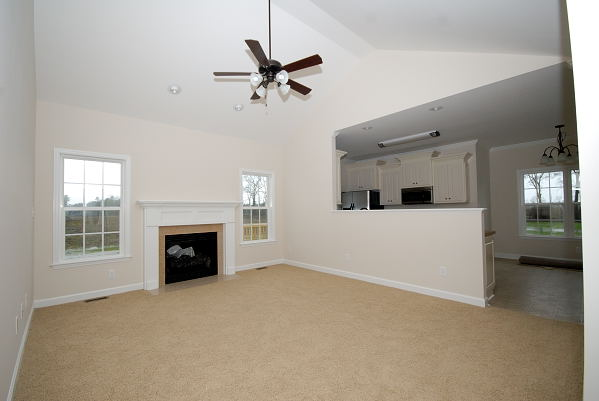 New Home Construction - Goldsboro NC - Family Room