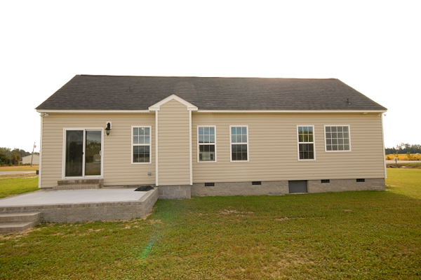 New Home for Sale - Goldsboro NC - 100 Teresa's Way - Family Room