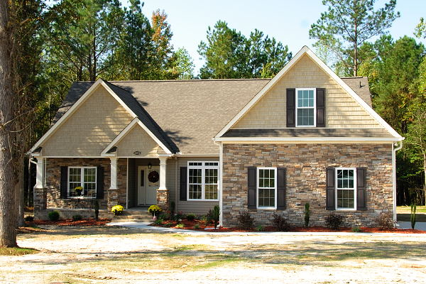 New Construction - Homes for Sale - 205 Laurel Dr. - Goldsboro NC - Main View