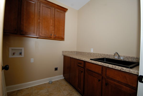 New Home Construction - 403 Ashland Dr. Goldsboro NC - Laundry Room